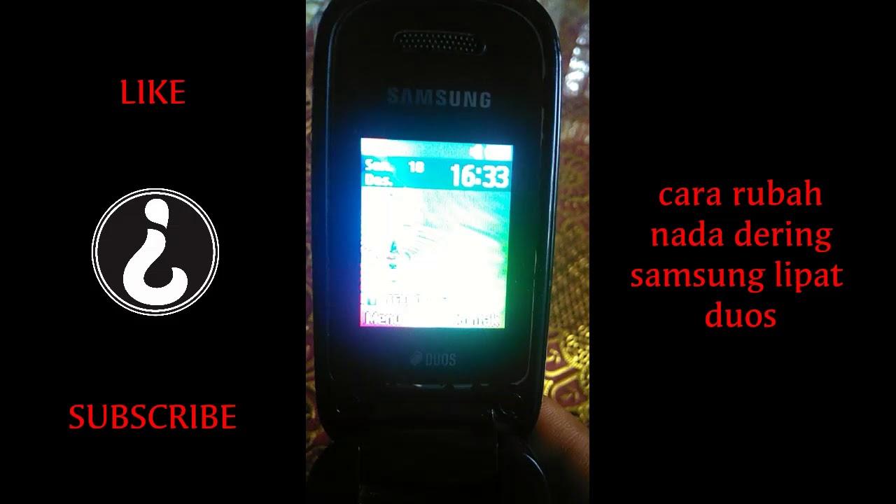 Cara Merubah Nada Dering Samsung Lipat Duos Youtube