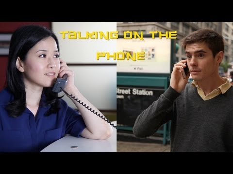 Talking on the Phone in Chinese (UPDATED) | Learn Chinese Now