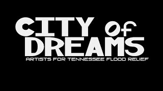City of Dreams - Artists For Tennessee Flood Relief by Victoria Banks
