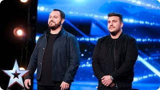 DNA leave the audience and Judges totally spooked | Auditions Week 1 | Britain's Got Talent 2017 thumbnail