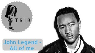 Gambar cover All of me by John Legend (Instrumental Rock Version) KARAOKE