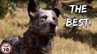 Top 10 Best Dogs In Video Games
