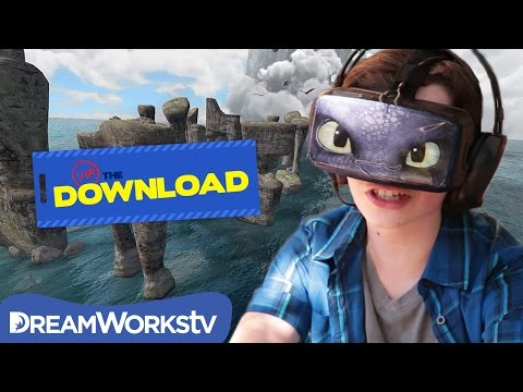 Ride Toothless with Oculus Rift   THE DREAMWORKS DOWNLOAD