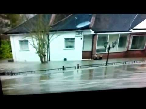 Storm and flood in the uk