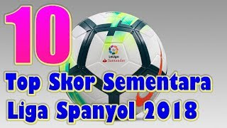Top 10 scores while spanish league 2017/2018, who are your favorite players?