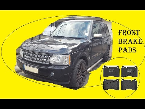 How to replace front brake pads – Land Rover L322