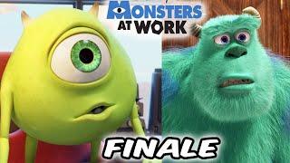 Monsters At Work SEASON FINALE Breakdown and Easter Eggs *SPOILERS*