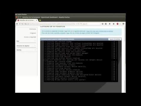 Openstack Liberty : Instalación y configuración