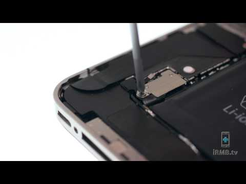 Loud Speaker Repair - IPhone 4 How To Tutorial