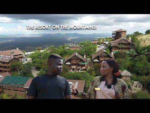 How A Kenyan Family Built A Beautiful Resort On A Mountain!