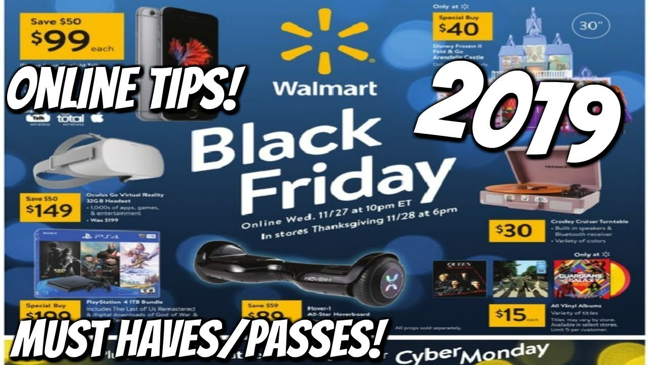 Walmart Black Friday 2019 My Must Haves Tips Youtube