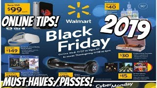 WALMART BLACK FRIDAY 2019! MY MUST HAVES & TIPS!