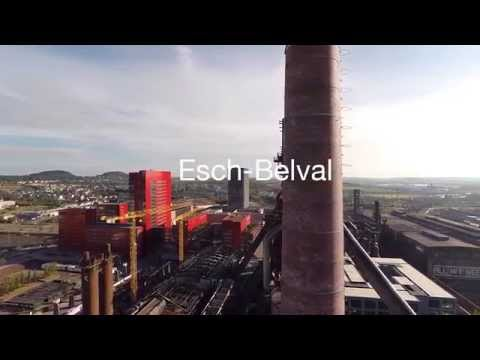 Belval Luxembourg Aerial Footage