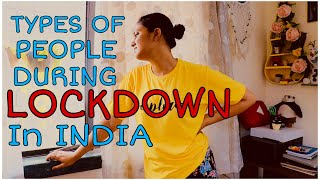 Types Of People During Lockdown In India // Captain Nick