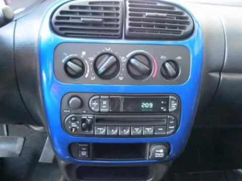 2004 Dodge Neon Sxt Auto 2 0l Blue Youtube