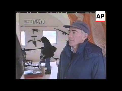 FALKLAND ISLANDS: ARGENTINE VETERAN OF 1982 WAR  RETURNS