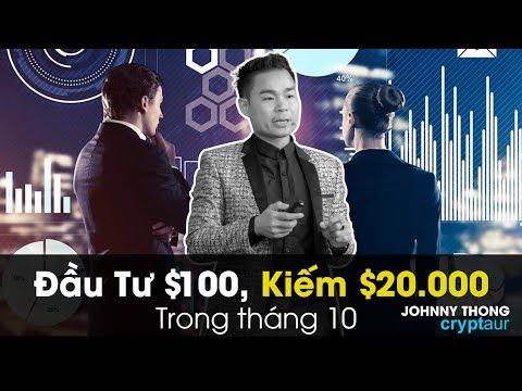 HƯỚNG DẪN CHI TIẾT ĐẦU TƯ $100 KIẾM $20.000 TRONG THÁNG 10 Với Dự Án Cryptaur |JOHNNY THONG |