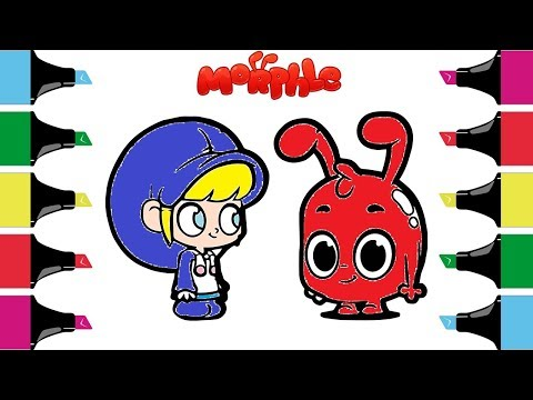 Morphel Coloring  Pages| Morphel And Mila Cartoons For Kids