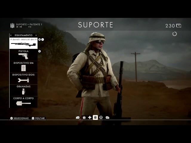Bf1 - Sofrencia De Um Nub Agora De Suporte ( Faca Do Capiroto ) Xbox One #2