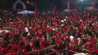 Rally in St. Joseph to Re-Elect Kelver Darroux (...Destra performing live)