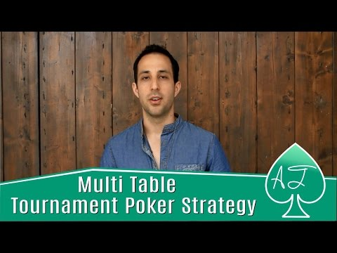 Multi Table Tournament Poker Strategy: How to Play Big Pairs in MTTs