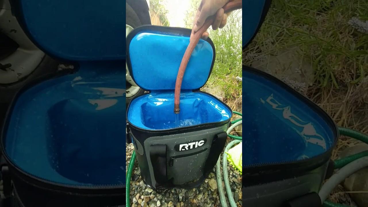 HD RTIC Soft Cooler Leak Test 20