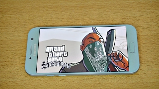 Samsung Galaxy A5 (2017) Gaming Review GTA San Andreas Gameplay! (4K)