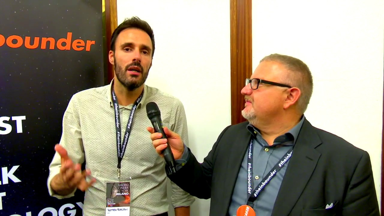 Matteo Pogliani di Open-Box a The Inbounder 2017 a Milano