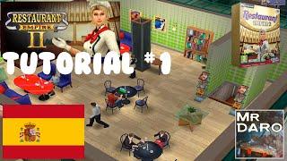 #1-Restaurant Empire 2-¿Como empezar bien?-Tutorial-Español