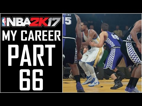 "NBA 2K17 - My Career - Let's Play - Part 66 - ""Livingston Block Party! Steph Curry Out"""