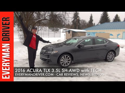 Here S The 2016 Acura Tlx Sh Awd On Everyman Driver