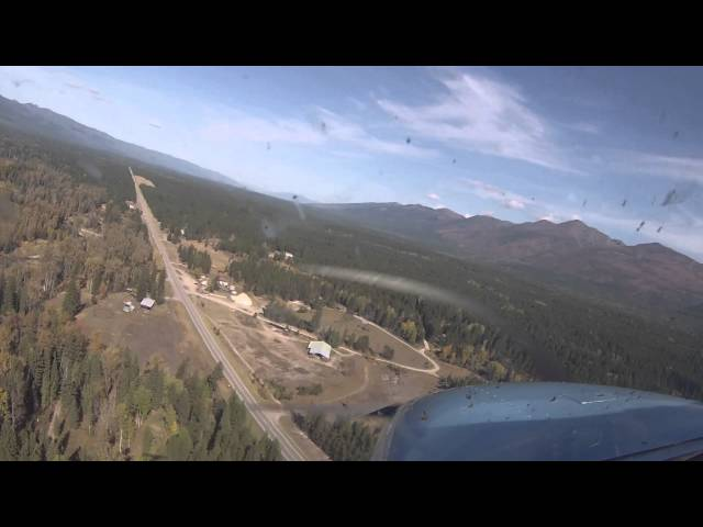 Flying in Big Sky Country