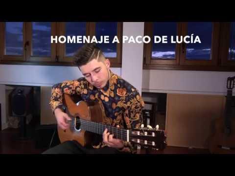 """Paco de Lucía """"Entre dos aguas"""" por Amós Lora. 2018"""