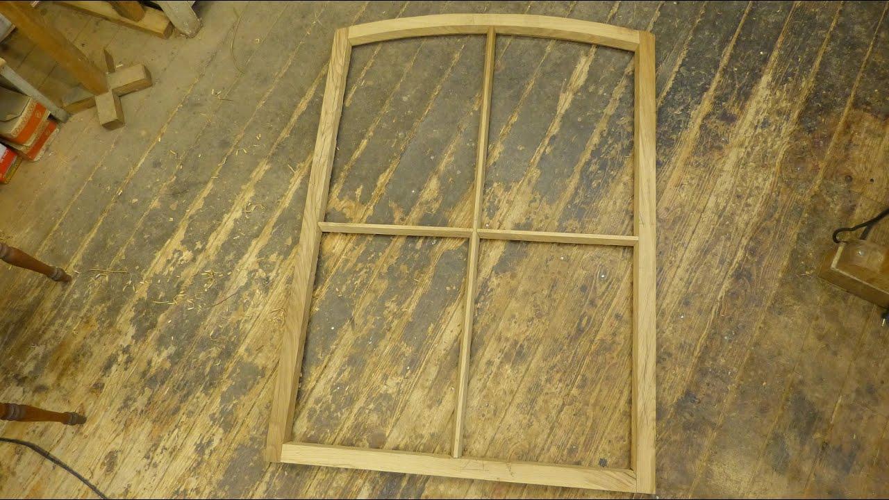 segmentbogenfenster selber bauen teil 3 ausarbeitung mit schiffshobel youtube. Black Bedroom Furniture Sets. Home Design Ideas
