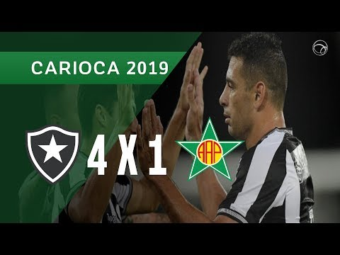 BOTAFOGO 4 X 1 PORTUGUESA - GOLS - 21/03 - CAMPEONATO CARIOCA 2019