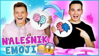 PANCAKE ART EMOJI CHALLENGE!  | Dominik Rupiński & Smav