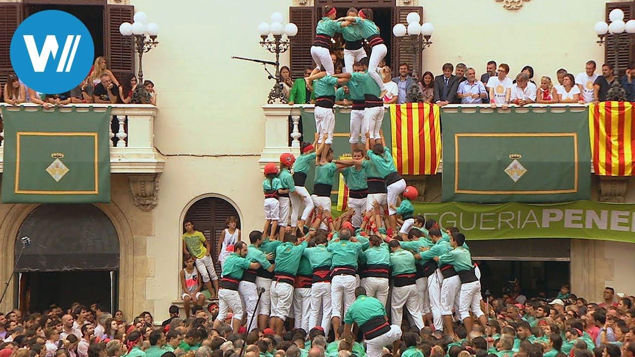 Download Die Menschentürme von Tarragona - eine gefährliche Tradition