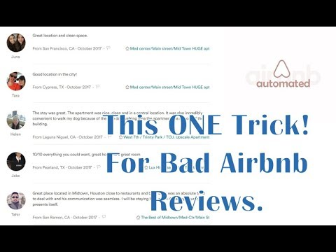 Airbnb Review Hacking! Beat Bad Airbnb Reviews in 2018 | Airbnb reviews |  Airbnb tutorial & Pro Tip