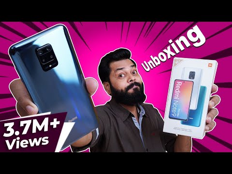 Redmi Note 9 Pro Max Unboxing And First Impressions ⚡⚡⚡Huge Display,Huge Battery, SD 720G & More