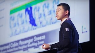 How germs travel on planes -- and how we can stop them | Raymond Wang(Raymond Wang is only 17 years old, but he's already helping to build a healthier future. Using fluid dynamics, he created computational simulations of how air ..., 2016-01-11T16:52:51.000Z)