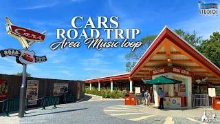 Cars : Road Trip - Area Music Loop [HQ] - Disneyland® Paris