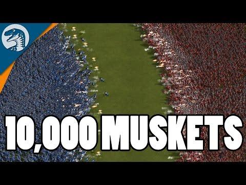 100+ LAND BATTLESHIPS & 10,000 INFANTRY, INSANE ARTILLERY | Cossacks 3 Gameplay