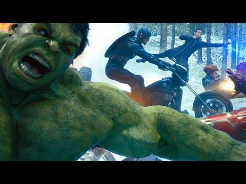 Avengers vs HYDRA - Opening Battle Scene - Avengers: Age of Ultron (2015) Movie CLIP HD