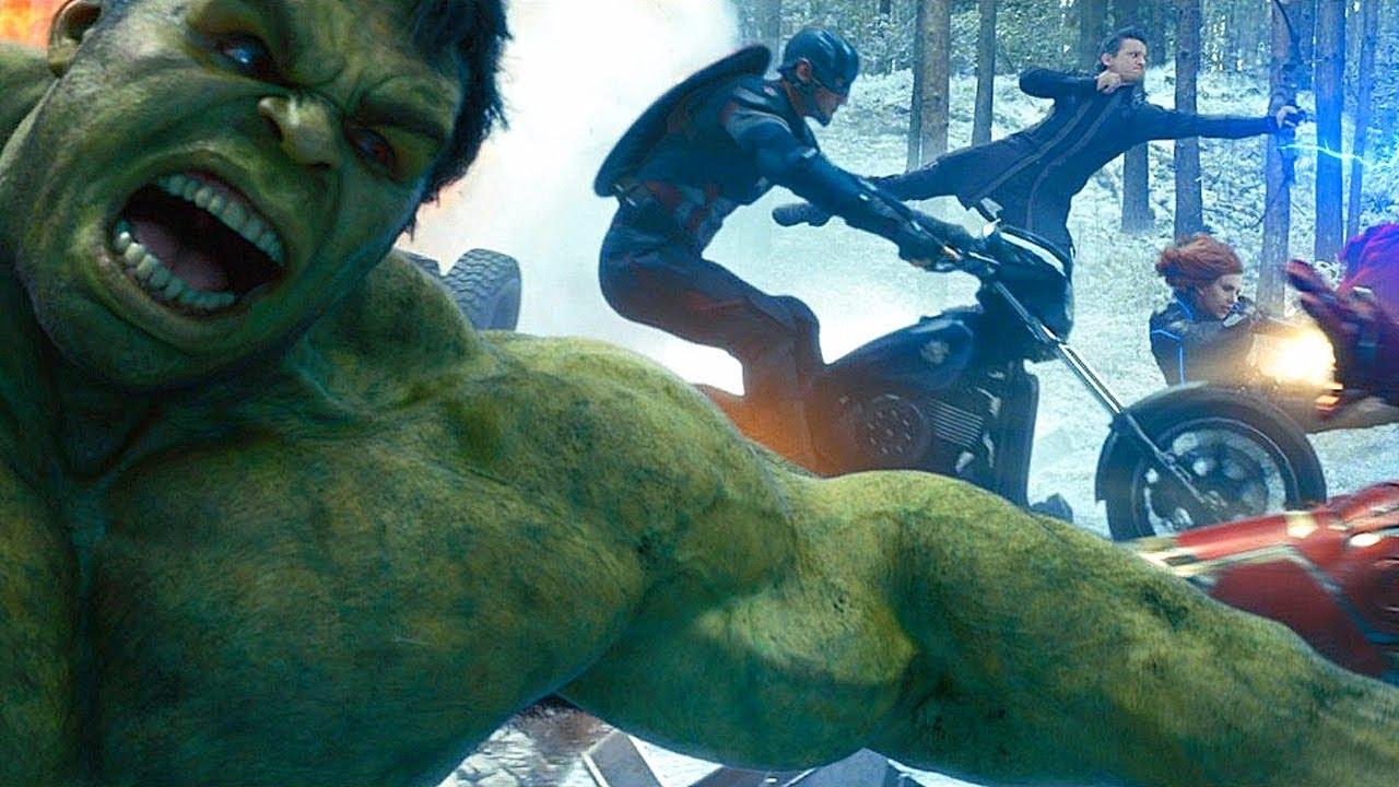 Avengers Vs Hydra Opening Battle Scene Avengers Age