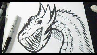 как рисовать дракон граффити(рисунок дракон граффити музыка (Audiomicro.com) Dubstep 1., 2014-11-24T18:02:37.000Z)