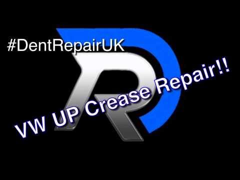 VW UP VW UP CREASE REPAIR. #DentRepairUK Paintless Dent Removal (PDR)