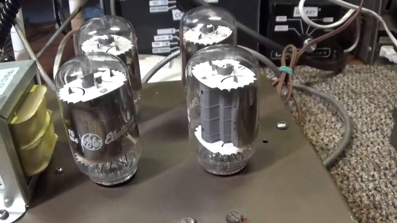 Maco 200 Linear Amplifier - YouTube
