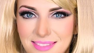 Barbie Doll Makeup Transformation Thumbnail