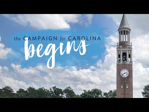 The Campaign for Carolina begins