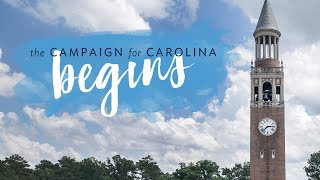The Campaign for Carolina begins thumbnail